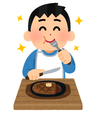 syokuji_steak_man.png
